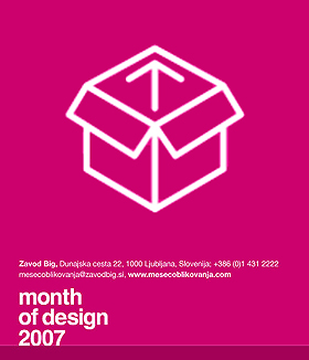 Lecture / Month of Design in Ljubljana